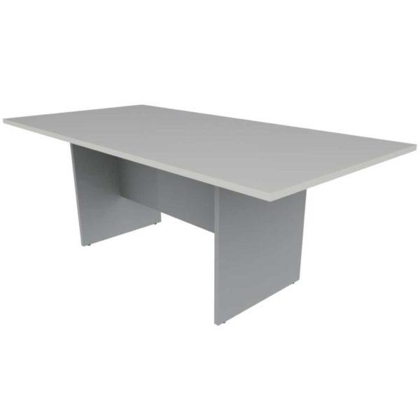Table de réunion rectangulaire piètement panneau